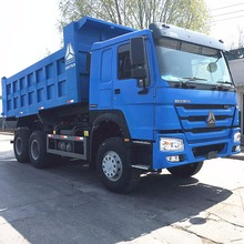 Sinotruk 10 wheeler 371hp howo tipper truck dump truck for sale
