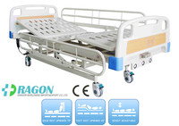 Cheap bed!Electric clinical hospital bed with three functions;parts for electric adjustable bed;DW-BD122