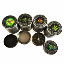 new type herb grinder weed grinder tobacco grinder cigarettes smoke crusher hand muller super shredder