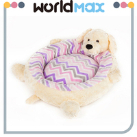 China Manufacturer Washable Pet Mat Cozy Cat Bed Plush Dog Kennel