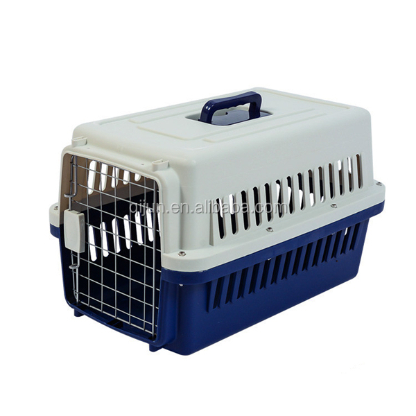 Plastic PP material Dog carrier cat cage
