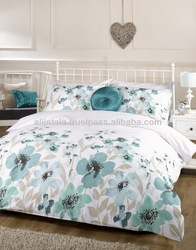 50% Cotton & 50% Polyester Print Bedding Set