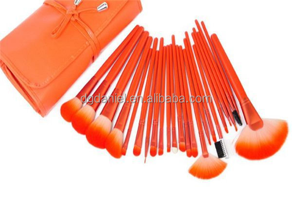 2016 hot sale big size makeup brush,yellow handle makeup brush