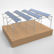 Solar farm house, solar panel mounting structure , solar racking