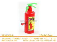 Plastic small fire extinguisher water toy for sale!
