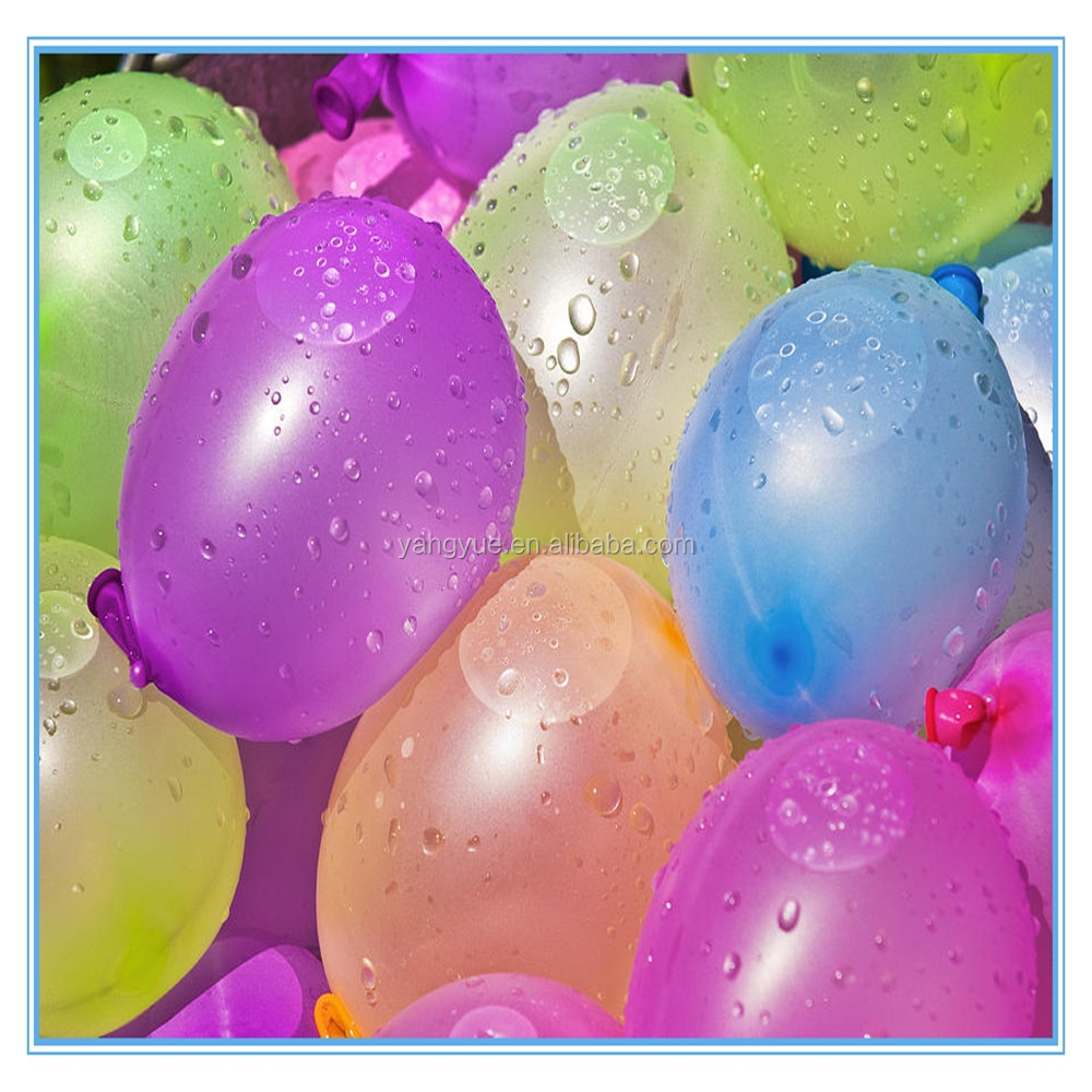 2015 New Design Customized Bunch Balloons, High Quality Magic Water Balloons Latex Free Water Balloon Factory