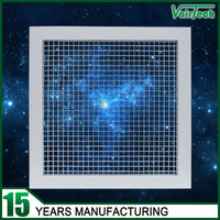 Popular egg crate ceiling diffuser return and supply registers and grilles