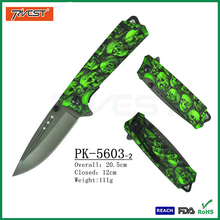 Hot Camouflage Handle Folding Tactical Combat Knife