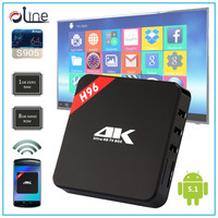 2016 Olympic Penta-core GPU 8GB NAND ROM android tv box 3g H96 live tv box