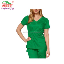 2017 New Style Custom Spa Workwear / Comfortable Clinic Scrub Suit