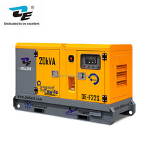 10KW-200KW diesel generator brushless and auto electric start 400/230V silent diesel generator set
