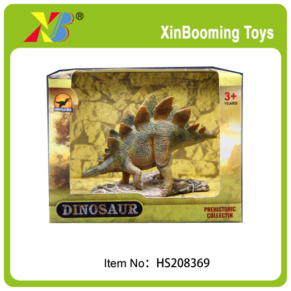 Soft plastic toy dinosaur play figures