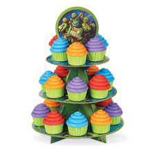 Wholesale Paper Countertop Wedding Cup Cake Display Rack