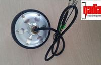 4 inch dc motor brushless gearless electric hub motor in wheel customized