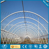 poly greenhouses pe leno garden greenhouses galvanized steel frame glass greenhouse