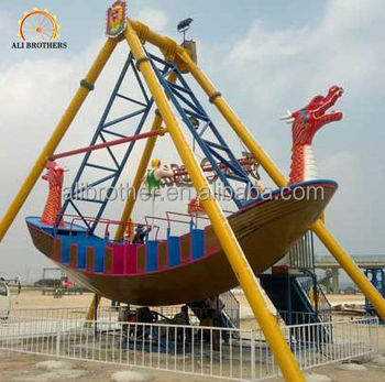 Attraction children outdoor pirate ship theme park equipment for sale