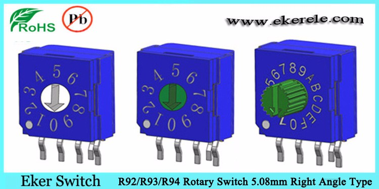 4 pole 3 position rotary switch 4 position