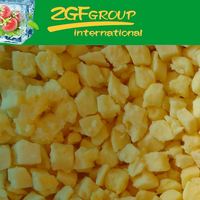 IQF Frozen Fresh sliced pineapple in good quality in bulk