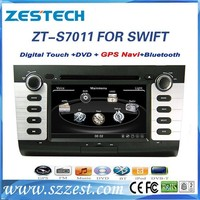 ZESTECH DVD factory 2 Din Touch screen car audio player dvd gps navigation system radio Car Stereo for Suzuki Swift