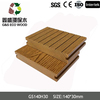 WPC solid wood plastic composite decks for outdoor/outdoor waterproof wooden flooring