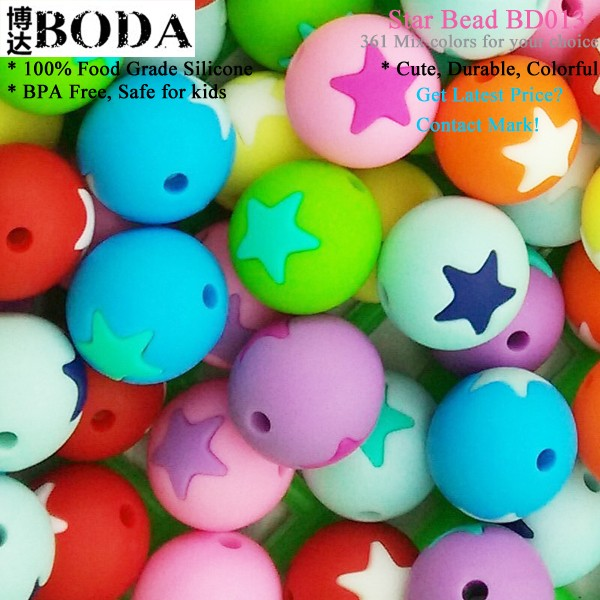 China Factory Wholesale Star Round Shape Mardi Gras Beads