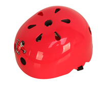 Big Red Color Bicycle Helmet Comfortable Adjuster Helmet for Adult and Kids