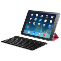 factory price universal slim aluminum bluetooth wireless keyboard for ipad 2,3,4 -for ipad mini-for ipad air