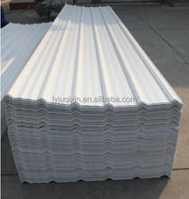 Length customized PVC/UPVC plastic trapezoid roofing material/roof tile and roof sheet