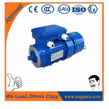 Electromagnetic braking electric motor (b3 mounting ) for transport machinery