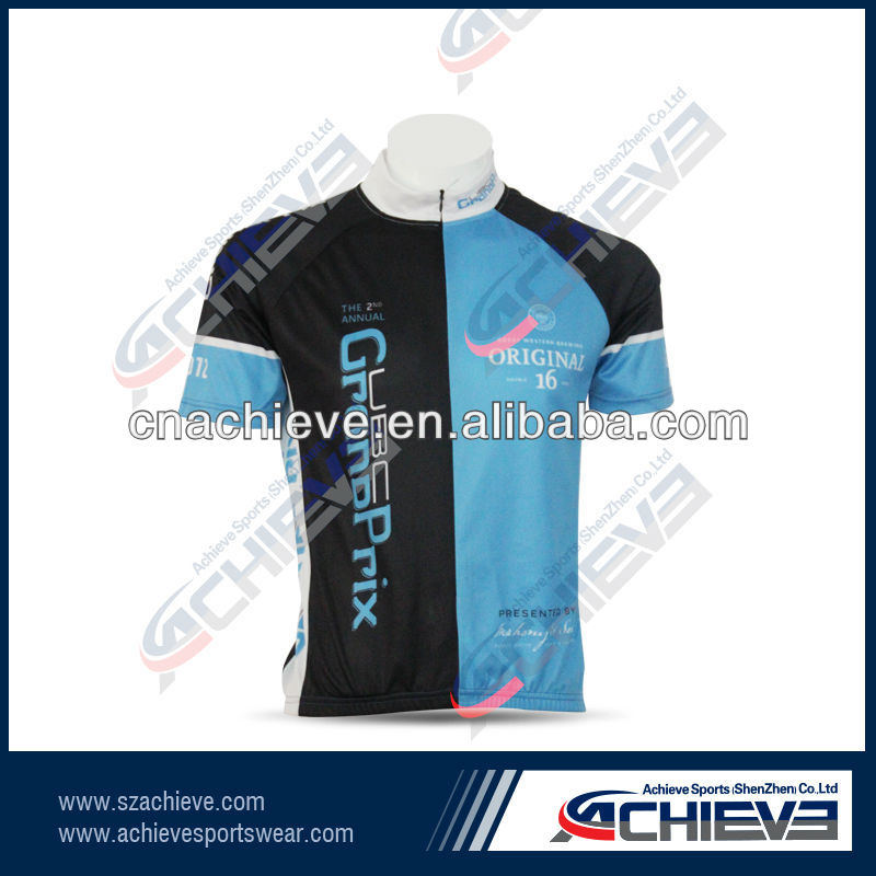Newest design sublimation cycling jersey