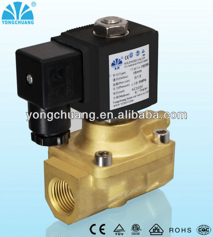 High pressure diaphragm pilot operated Solenoid Valve -YCH11 Series