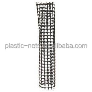 Extruded PE mesh square guard fence for tree trunk
