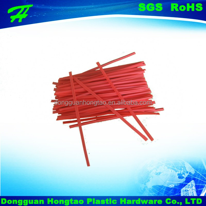 Food Industrial Use and Plastic Material spool roll paper/vegetable/cable twist tie