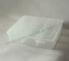 Clear Plastic Storage Box Jewelry Case Container Jewelry Packaging and Display Nail Art Tools