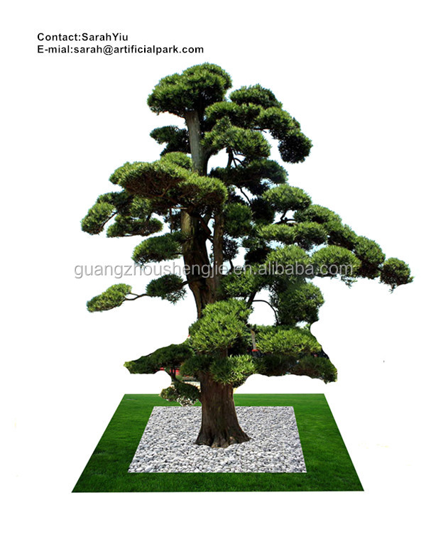 artificial plants and trees/china supplier artificial red pine tree bonsai cheap price