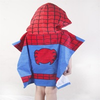 Wholesale Factory Low Prices Microfiber Kids Towel Surf Poncho