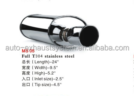 racing universal exhaust muffler