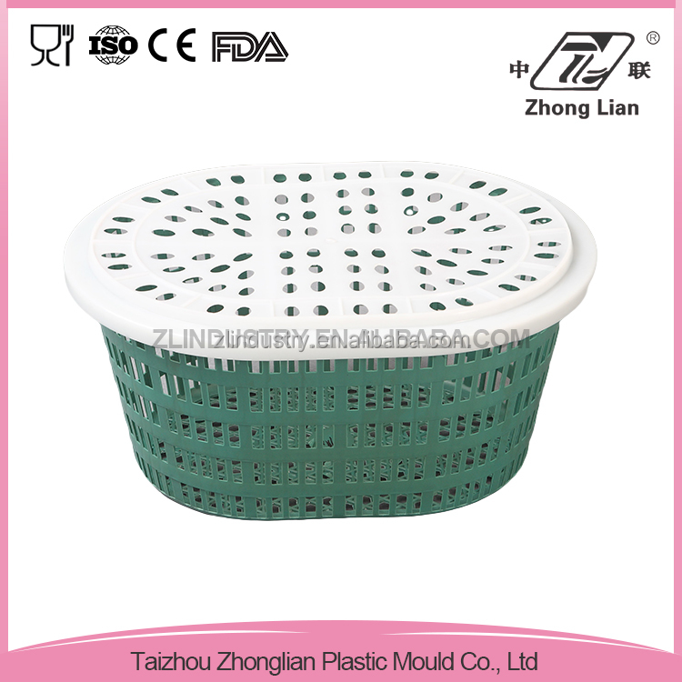 Manufacturer good offer plastic bread basket with cover