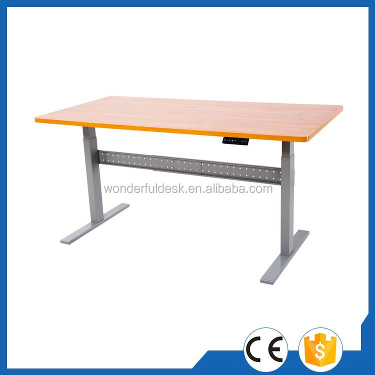 Top quality hot selling button adjustable office table