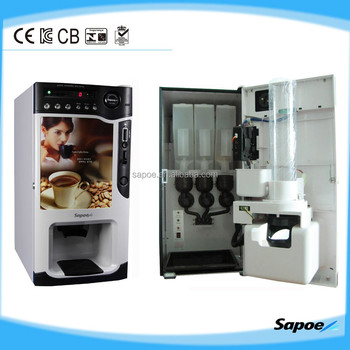 SC-8703B Best Price Delicious Hot Drinks Mini Table-Top Coffee Vending Machine