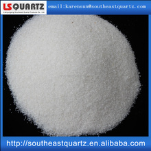 white silica powder for glass production