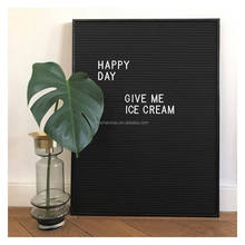 Metal frame letter board for advertising boards letterboard signs