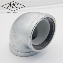 Galvanized threaded pipe fittings DN25-DN300 elbow