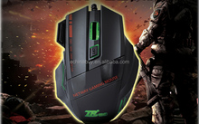 2014 Best Selling Wired USB Gaming Mouse with 5050IC,2400DPI