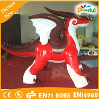 hot outdoor advertising wholesale walking animal balloon/inflatable dragon