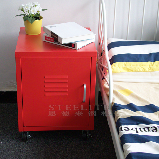 Small size bedside tables hospital bed table with drawer