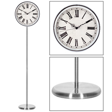 "Guangzhou 12"" quartz long metal grandfather clock/floor -standing clock"