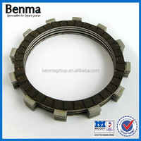 5pcs friction material clutch plates with rubber base,clutch disc plates for motorcycle