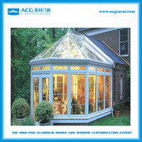 2016 Modern European design prefabricated sunrooms, winter garden