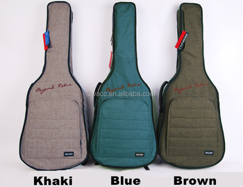 "SOLDIER brand patent padding 41"" acoustic guitar bag folk bag gig bag"